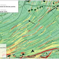 Cartographie des pentes - expertise agricole